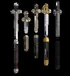 MMD XPS  Thrusting  blades
