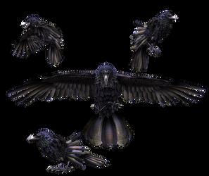 Giant Raven (Firelink-Asylum transport)