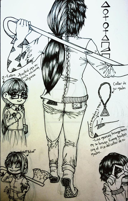 Illiana [[Reference Creepypasta Oc]] by bloodylia000