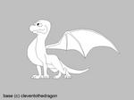 male dragon base