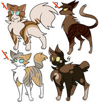 warrior cat adopt auction (closed) by ghostfuck