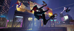 Spider-Man: Into the Spider-Verse by Auguy