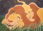 Lion king scene
