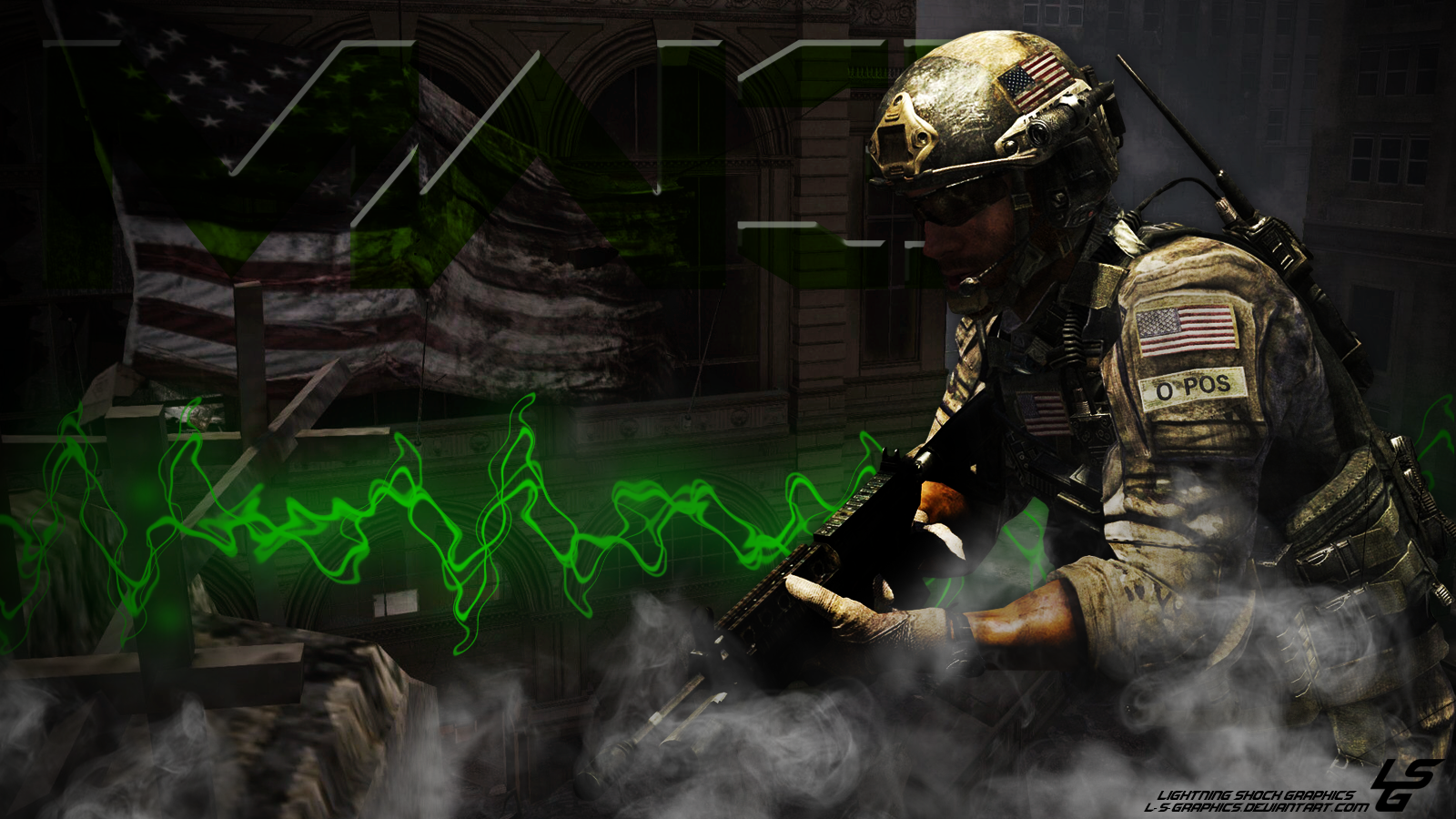 Call Of Duty MW3 Desktop Wallpaper By L S Graphics
