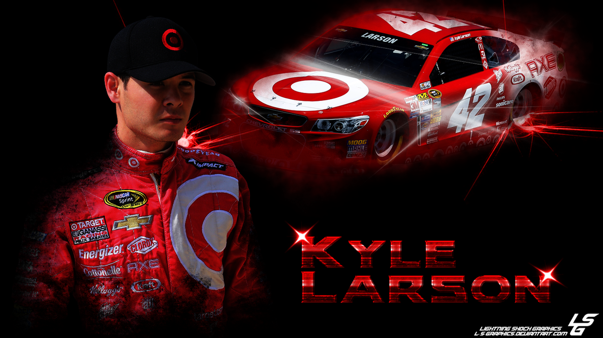 Kyle Larson NASCAR 14 Rookie Series Wallpaper By