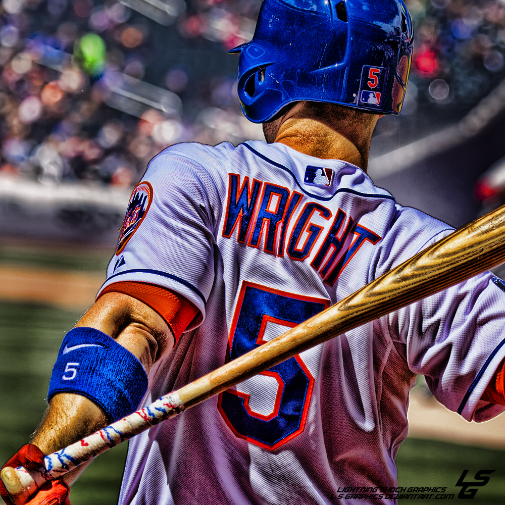 David wright edit by l s graphics d891cfb