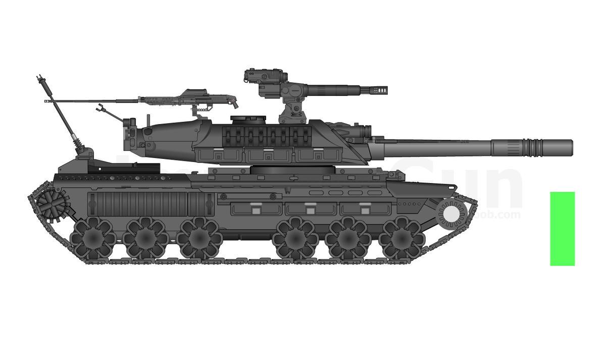 Aurumtech FV 4088 Cerberus MKII by milomike