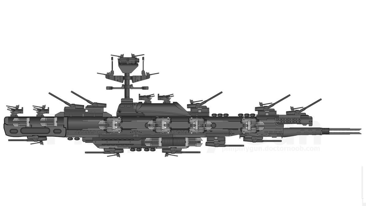 Britannia Class Ship by milomike