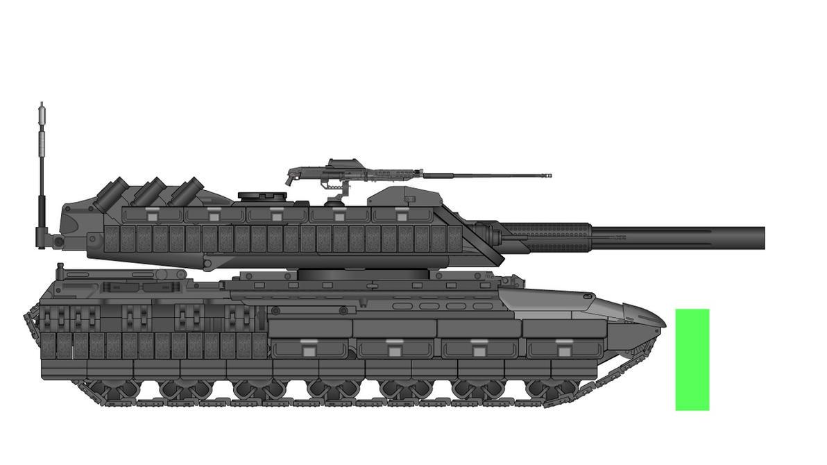 Aurumtech FV-4088 Cerberus MKV by milomike