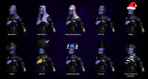 A Quarian of Many Hats by TiJiL