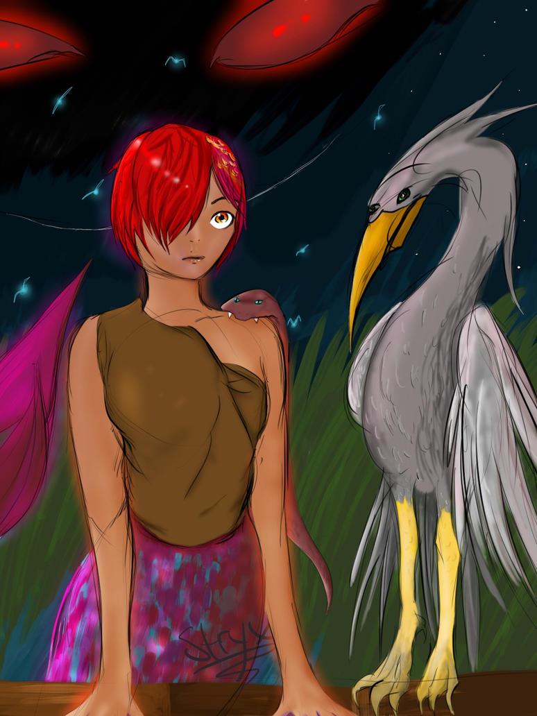 Amazon Mermaid by NikaStryx