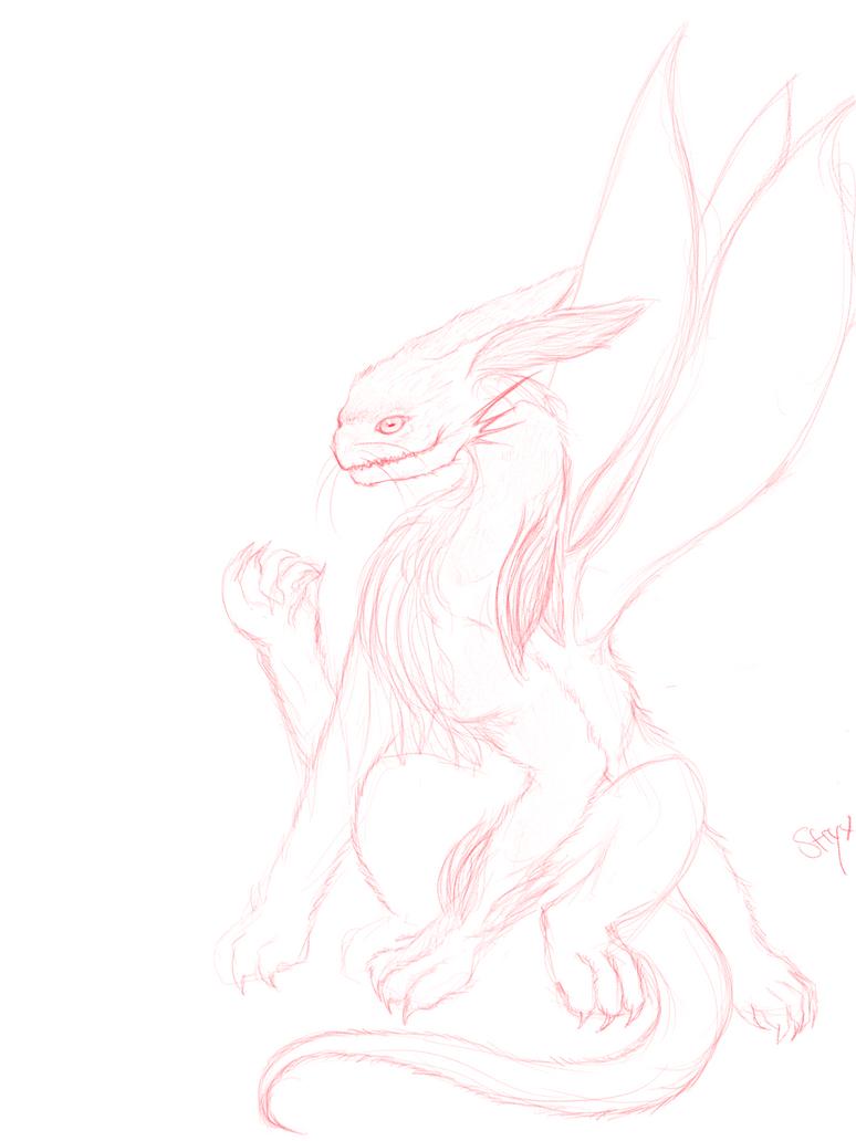 Rabbit Creature by NikaStryx