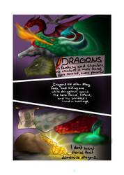 Potential Comic? Page One by NikaStryx