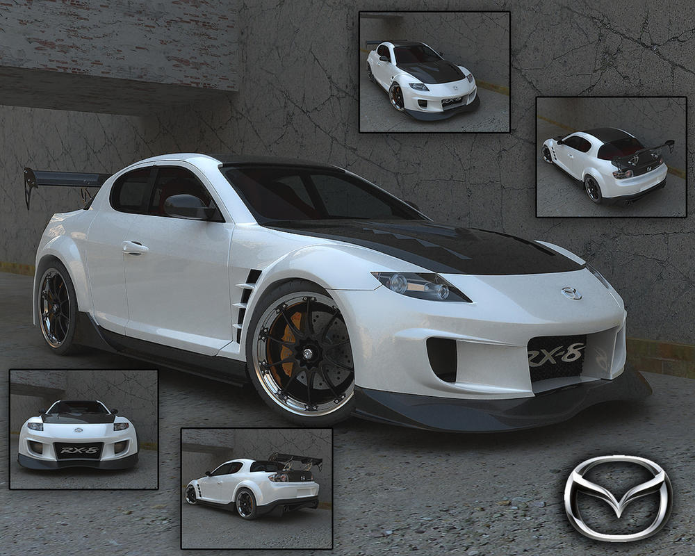 mazda rx8 set by stefanmarius on deviantart. Black Bedroom Furniture Sets. Home Design Ideas