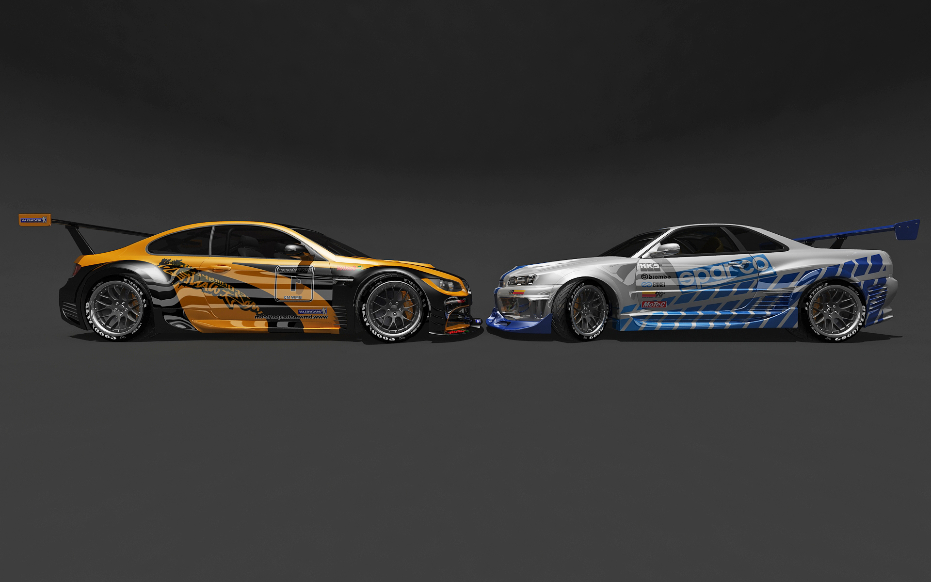 BMW and Nissan head to head by stefanmarius