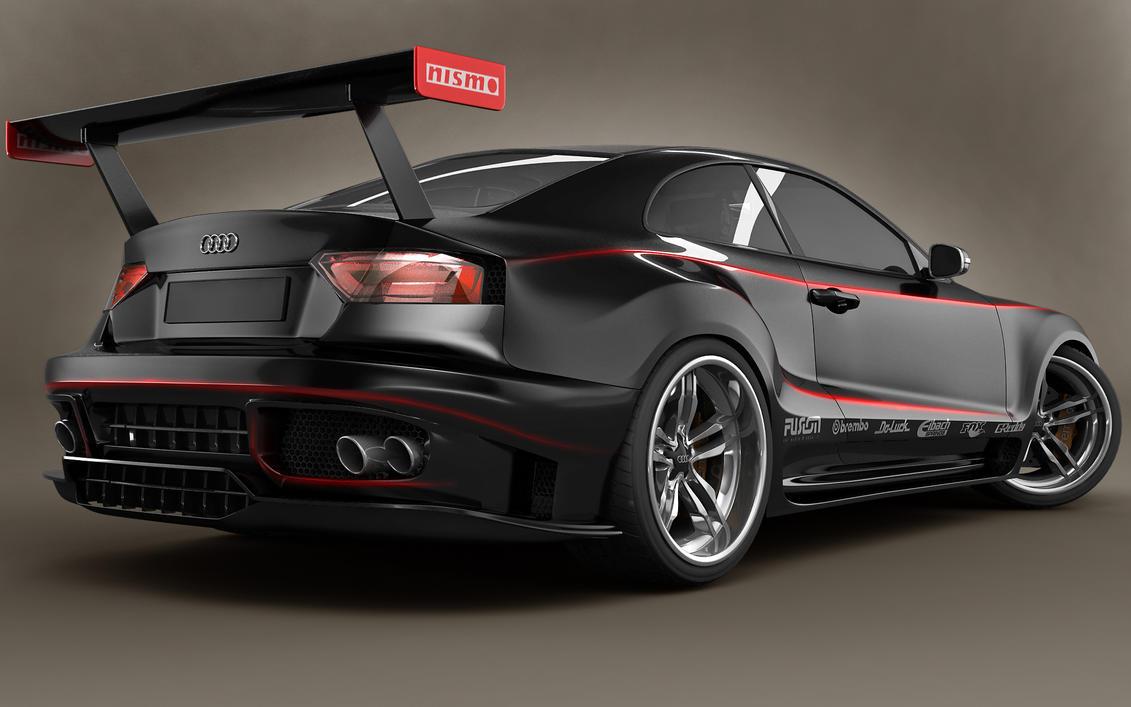Audi A5 GTR Back by stefanmarius