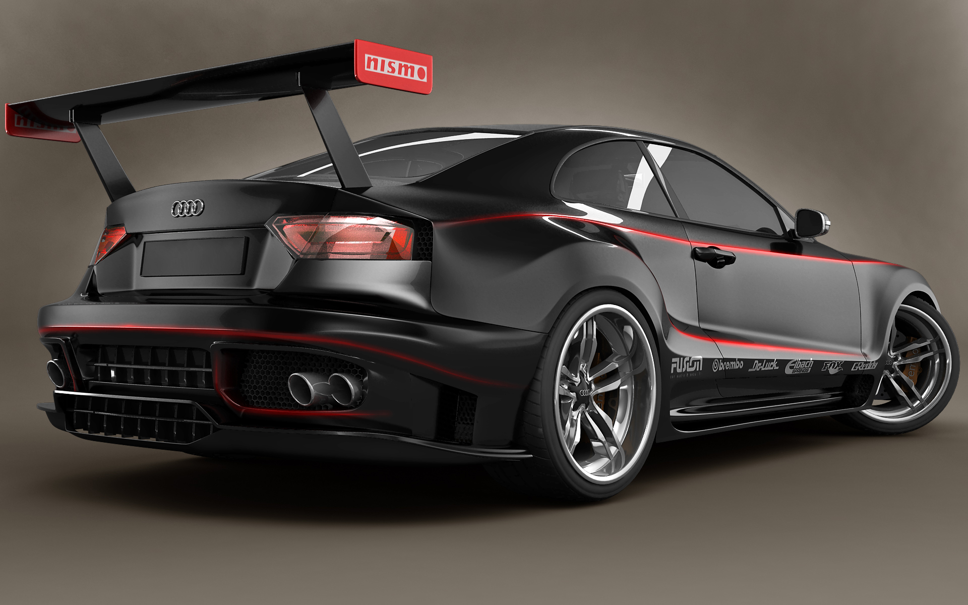 Audi A5 Gtr Back By Stefanmarius On Deviantart