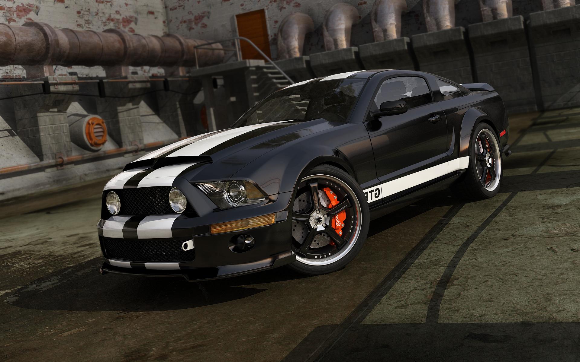 Black Mustang by stefanmarius