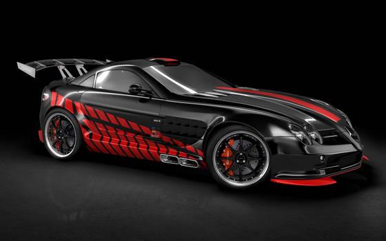 SLR McLaren Studio Shot
