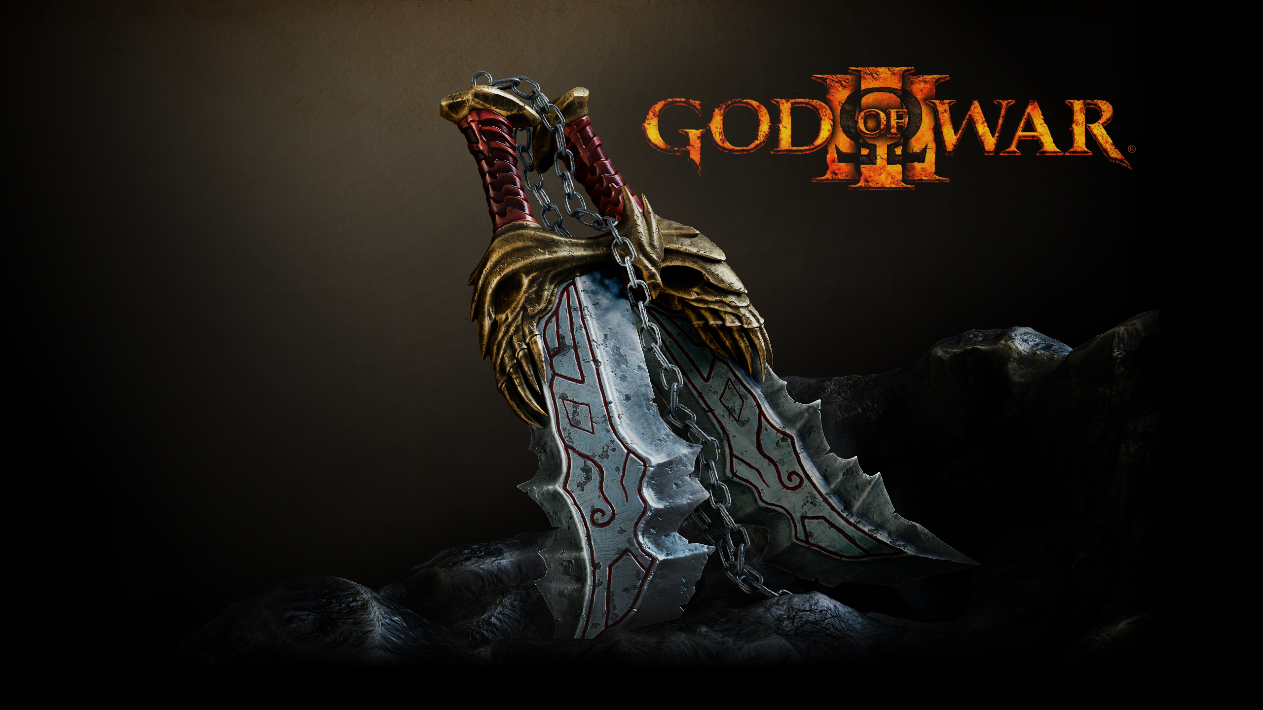 God Of War 3 Blades Of Exile Blades Of Chaos by ste...