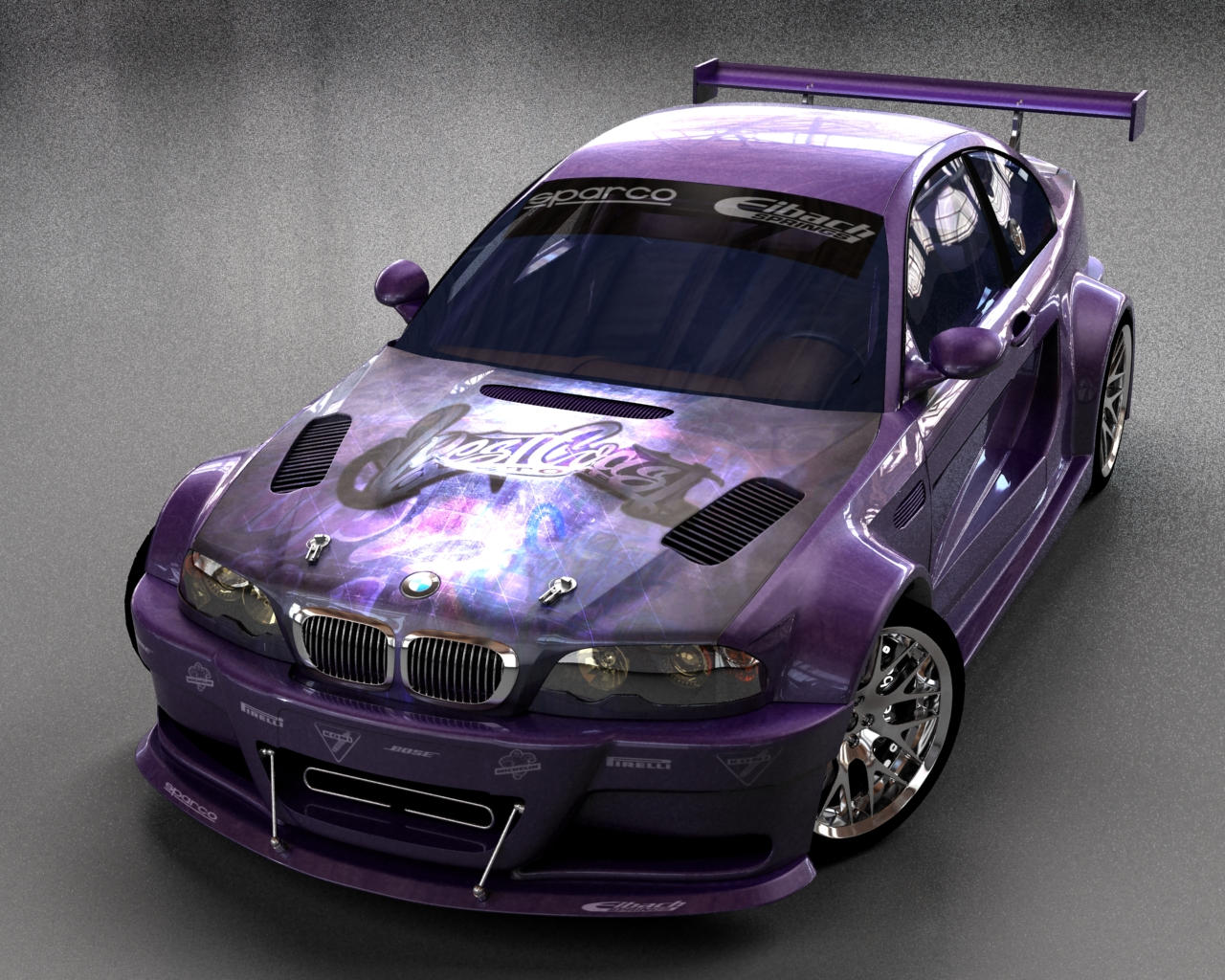 BMW M3 GTR  West Coast Custom by stefanmarius