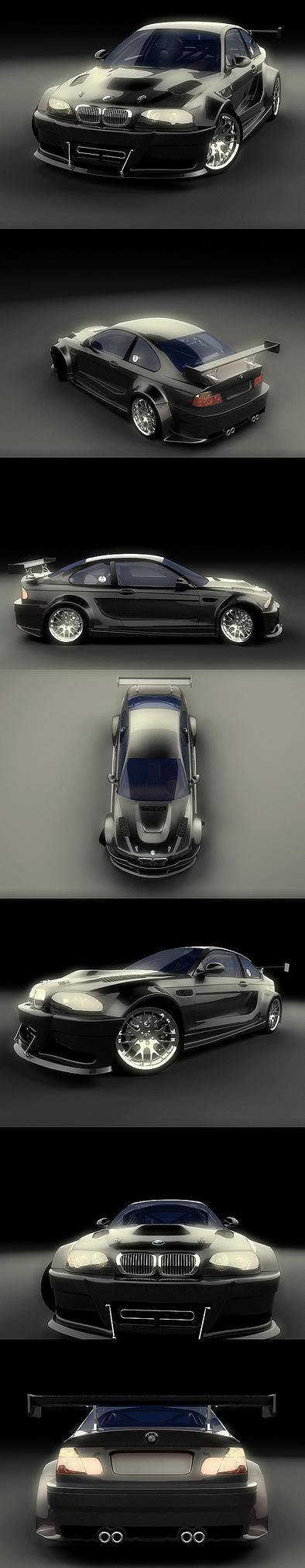 BMW M3 GTR Black Edition by stefanmarius