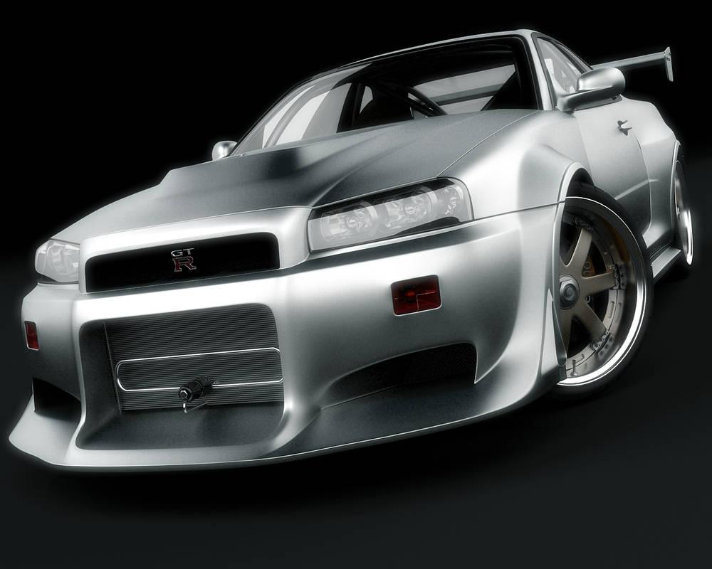 Nissan Skyline GTR wallpaper by