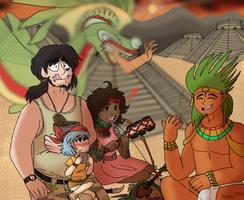 AVA: Aztecan by wackomako