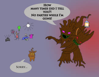 Maokai is not an easy parent