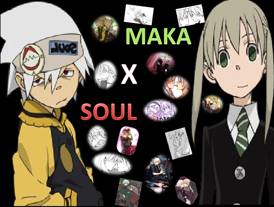 Soul X Maka of Soul Eater by LoverCathy on DeviantArt