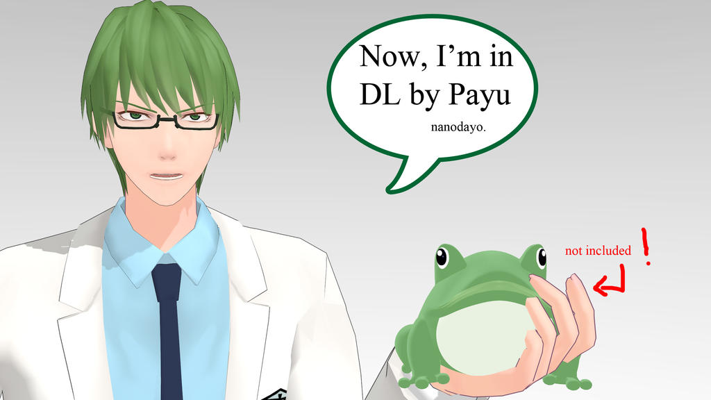 [KnB] Midorima Shintarou (Ver. Teiko) DL Original! by LoverCathy