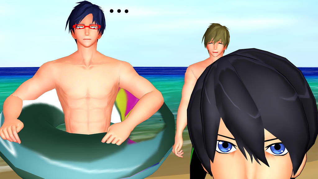 [MMD] Free! by LoverCathy
