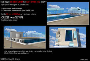 [MMD] Pool Stage [DL Link ORIGINAL] by LoverCathy