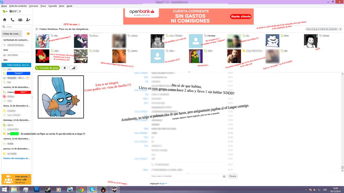 |Grupo de Skype muy random| by LoverCathy