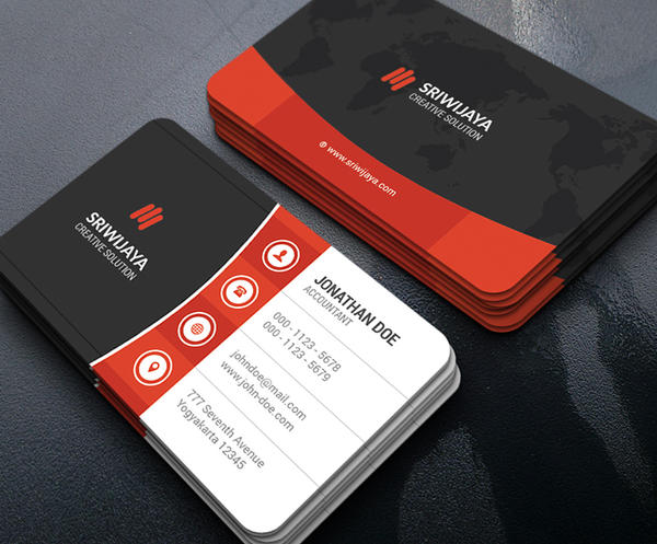 Modern Corporate Business Card by GOWESDESIGN on DeviantArt