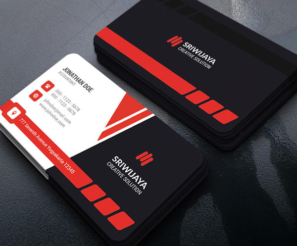 Modern corporate business card by gowesdesign on deviantart for Corporate business card designs