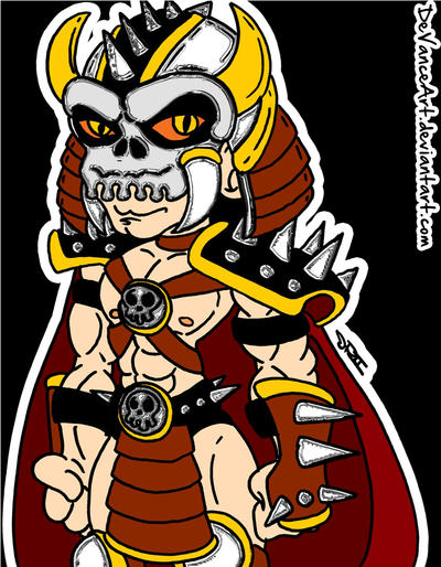 Shao Kahn by DeVanceArt