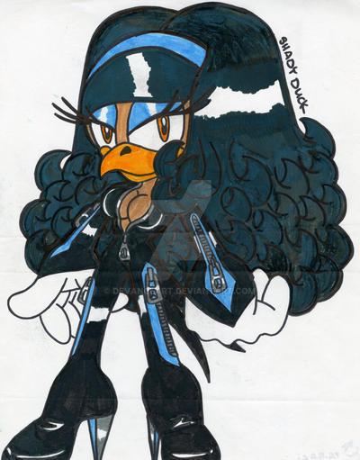 Shadie the Duck by DeVanceArt