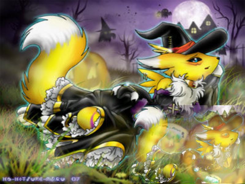 Halloween DigiDesktop 800x600 by JOBNED1