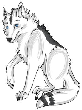 Joe Grey Aura Feral Wolf Form by JOBNED1