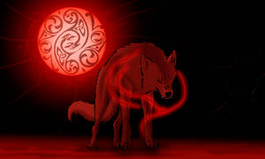 Hati. Speed animation. by EmeraldBlizzard