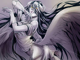 albedo doodle by papaphinks