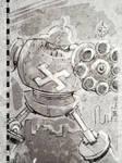 World War II German Robot