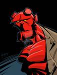 Hellboy 10 Minute sketch