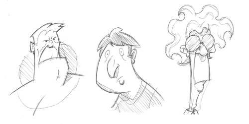 8-13-18 Random doodles