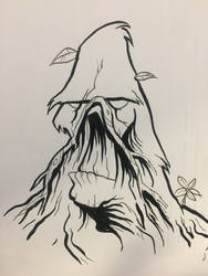 Inktober Day 2: Swamp Thing