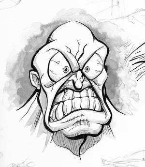 Angry Ink Wash