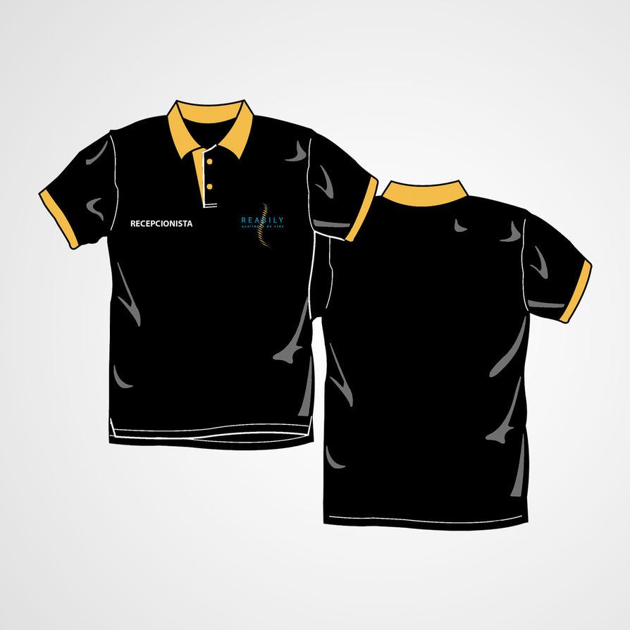 Serigrafia Camisa Polo // Reabily by Quislom