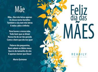 Cartao Dia das Maes // Reabily by Quislom