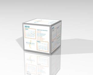 Cubo Calendario // Reabily by Quislom